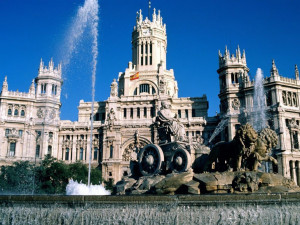 City madrid spain
